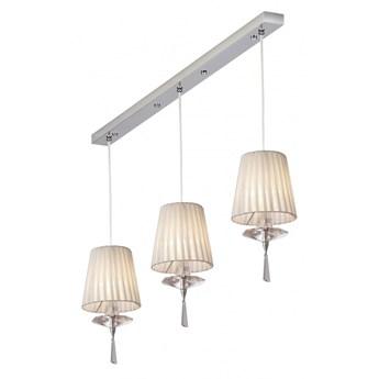 Lampa wisząca 3 pł. CLARO chrom Amplex 508 RABATY DO -25
