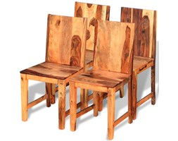 vidaXL Krzesła do jadalni z drewna sheesham, 4 szt.