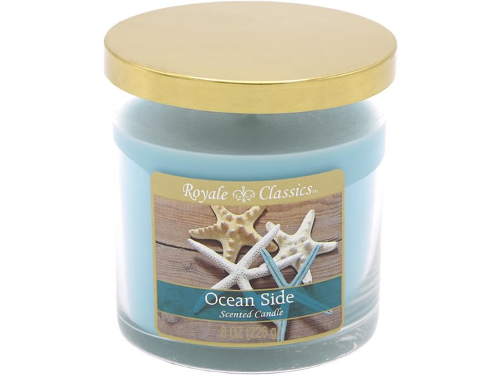 Candle-lite Royale Classics 8 oz luksusowa świeca zapachowa w szkle - Ocean Side