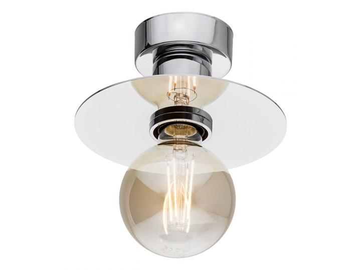 CORSO lampa przysufitowa 1 x 15W E27 chromowa prosta loftowa jednopunktowa ARGON 3881