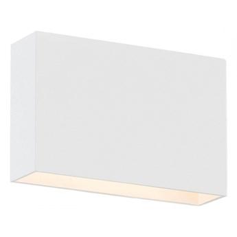 RIALTO lampa ścienna 1 X 4,5W LED biała metalowa zewnętrzna nowoczesna ogród balkon taras ARGON 3919