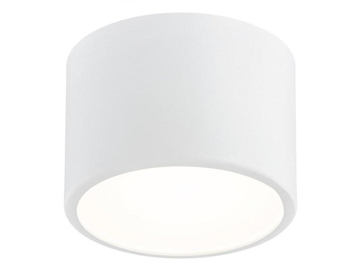 VICHY oprawa natynkowa 1 x 10W LED plafon stal lakierowana okrągły biały sufitowy ścienny z szybą ARGON 3884
