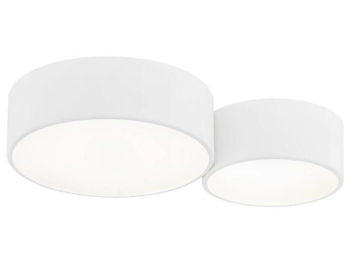 VICHY oprawa natynkowa 1 x 26W LED plafon stal lakierowana okrągła biała sufitowa ścienny z szybą ARGON 825