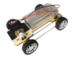 Samochód zabawka DIY - 12x4x9cm - 4WD - do samodzielnego złożenia - Buggy - F17912