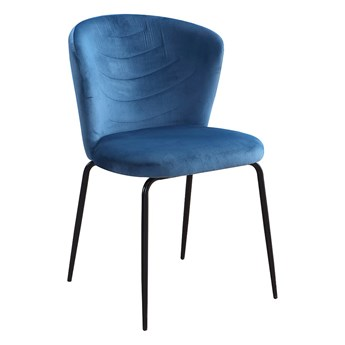 Krzesło VK  niebieski / czarny