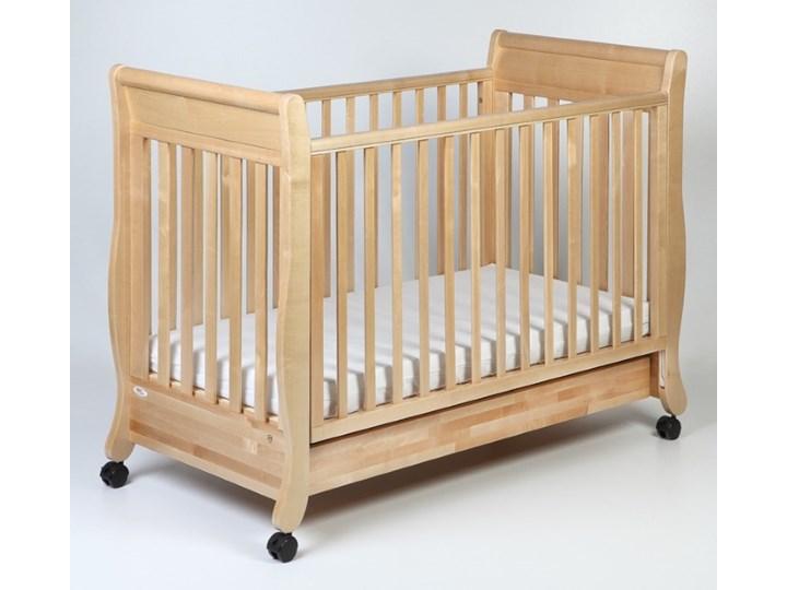 Troll Nursery łóżeczko dziecięce Romantica 120x60 Naturalne