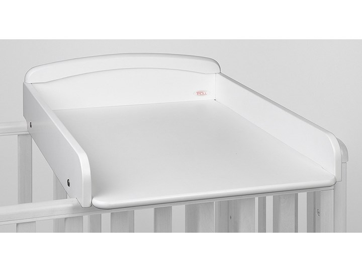 Troll Nursery Przewijak na łóżeczko Nicole kolor Biały