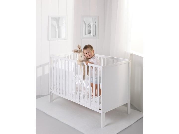 Troll Nursery Łóżeczko ECO PANEL 120x60 białe