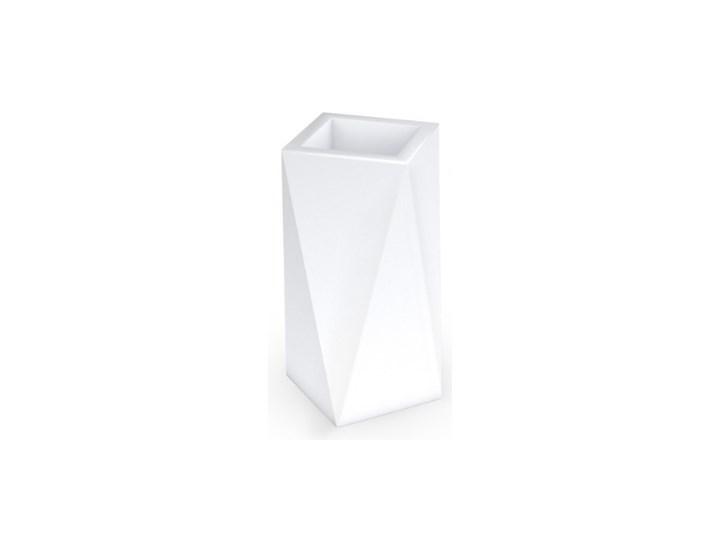 Donica wysoka Eris 80 cm, biała