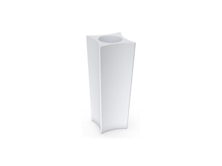 Donica wysoka Doris 80 cm, biała