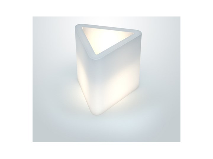 Donica podświetlana PD Concept Triton 48 cm o trójkątnym przekroju