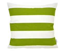 Poszewka dekoracyjna - Zielone pasy