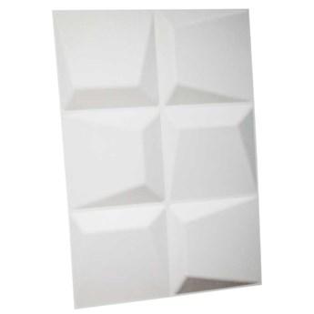 Panel ścienny dekoracjny na ścianę 3D z włókniny ozdobny biały MOSAICS