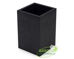 Donica z polietylenu QUADRI PL-QU60 czarny
