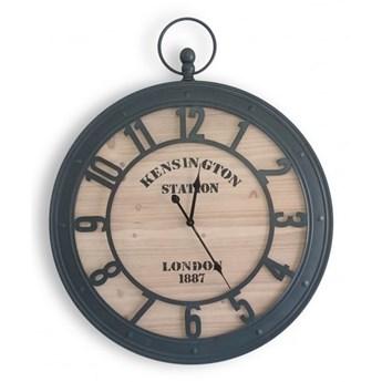 Oryginalny zegar ścienny, styl rustykalny .