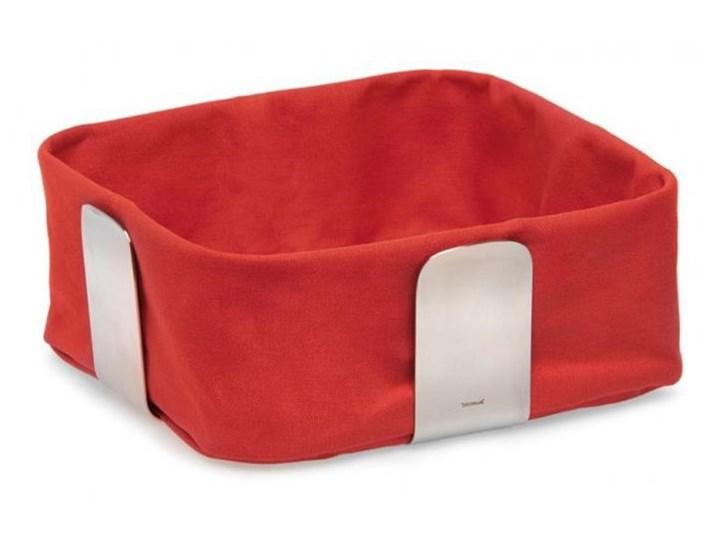 Koszyk na pieczywo 25,5 cm, czerwony