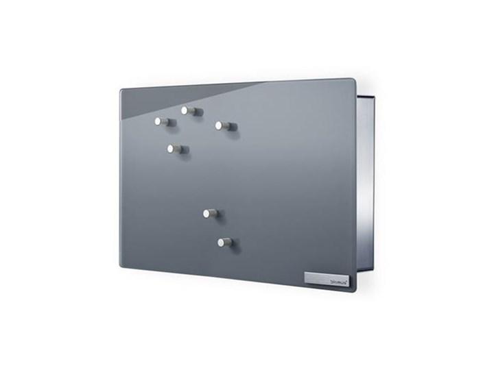 Magnetyczna skrzynka na klucze,szkło szare 2