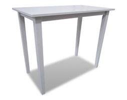 vidaXL Drewniany stolik barowy, biały