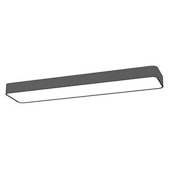 Plafon SOFT LED GRAPHITE 60x20cm