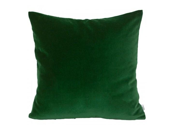 Poszewka dekoracyjna - Velvet_Green 45x45 cm Bawełna Bawełna Aksamit 40x40 cm 50x50 cm Aksamit