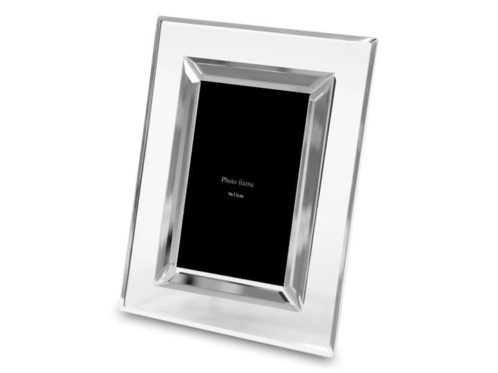 Szklana ramka Pierie 16x20 cm Metal Kolor Szary Szkło Kategoria Ramy i ramki na zdjęcia
