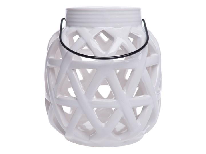 Lampion Hiraiso Ceramika Metal Kolor Szary Kategoria Lampiony