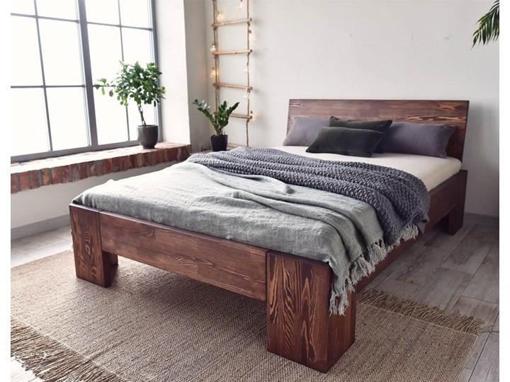 Łóżko Drewniane Sosnowe Marika II - 140 Kolor Beżowy