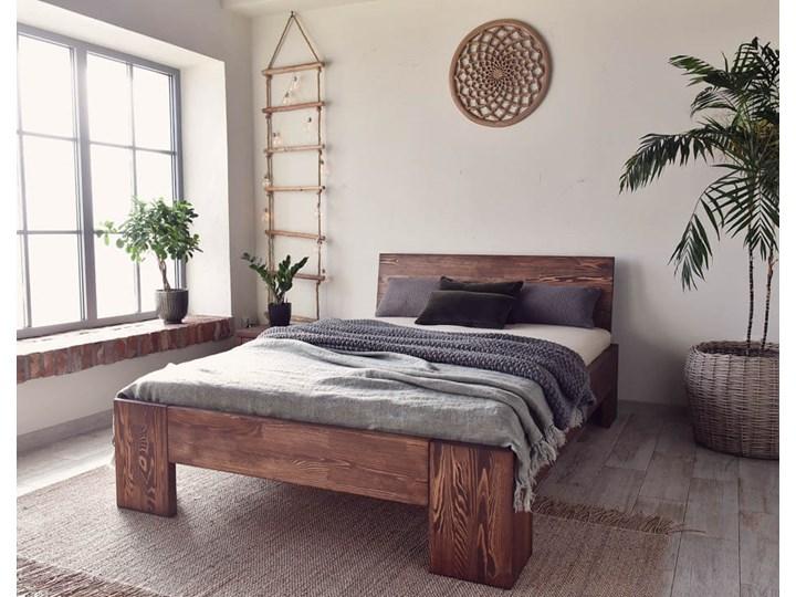 Łóżko Drewniane Sosnowe Marika II - 140 Pojemnik na pościel Bez pojemnika
