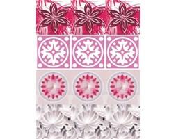 Naklejki Kafelki kwiaty pink SPN490WS