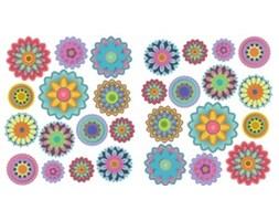 Naklejka Kolorowe kwiaty SNC14WD
