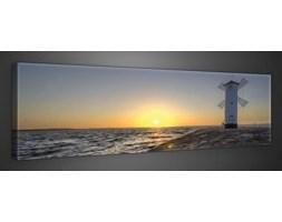 Obraz Wiatrak, morze i słońce PP10110O3