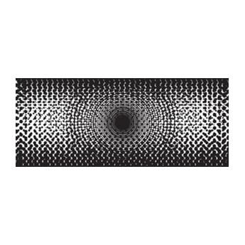 Fototapeta na flizelinie Czarno-biała abstrakcja 1487VEP