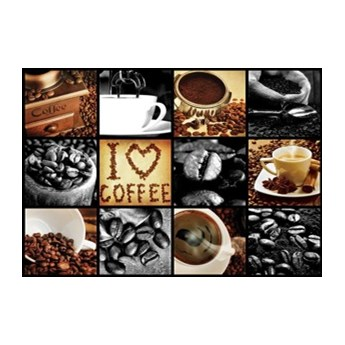 Fototapeta Kolaż I Love Coffee 10318