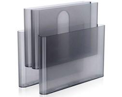 Gazetnik Pockets transparentny przydymiony