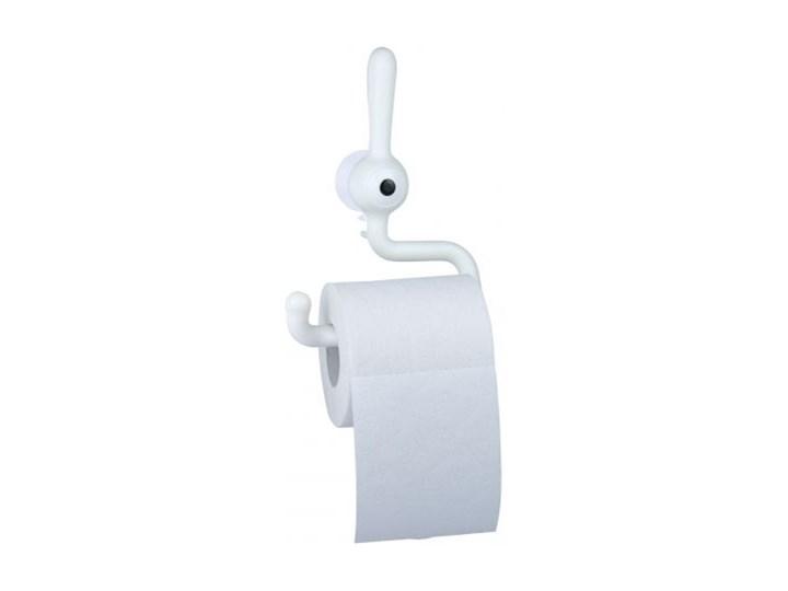 Uchwyt na papier toaletowy Toq biały