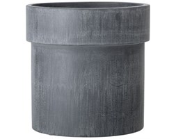 Doniczka Arno Ø25x25 cm ciemnoszara