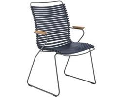 Krzesło ogrodowe Click 60x90 cm ciemnoniebieskie