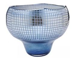 Wazon Grid Luster Ø35x28 cm niebieski