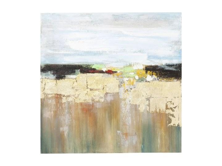 Obraz olejny Abstract Landscape 120x120cm