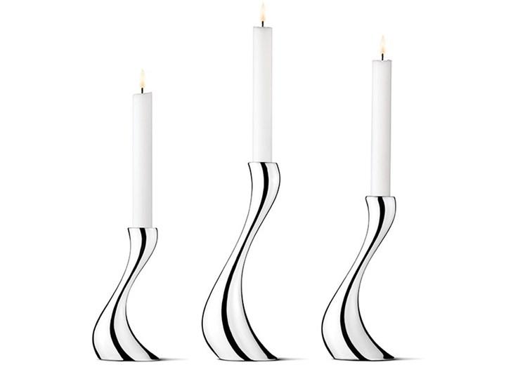 3 Świeczniki Georg Jensen Cobra