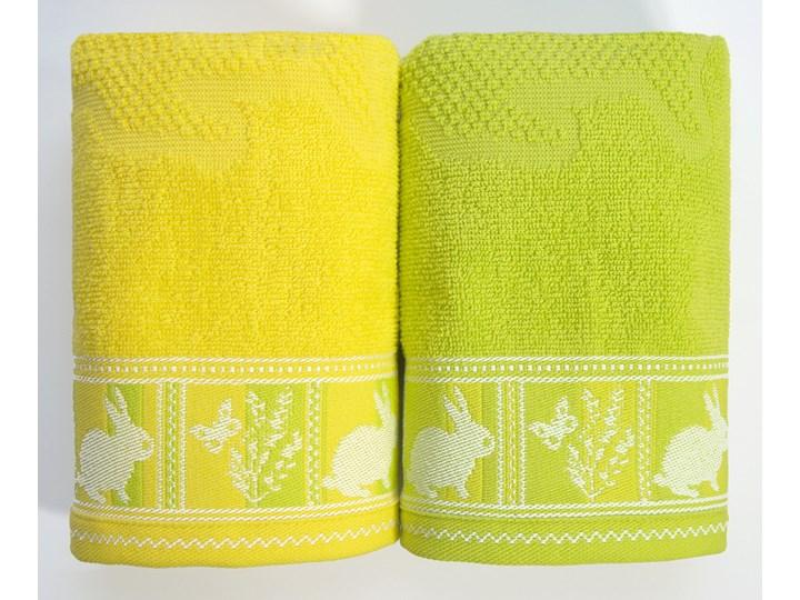 Ręcznik bawełniany Greno Wielkanocny Żółty