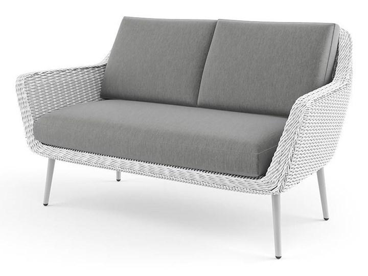 Meble ogrodowe MONZA royal białe Zestawy wypoczynkowe Technorattan Aluminium Stoły z krzesłami Tworzywo sztuczne Zawartość zestawu Sofa