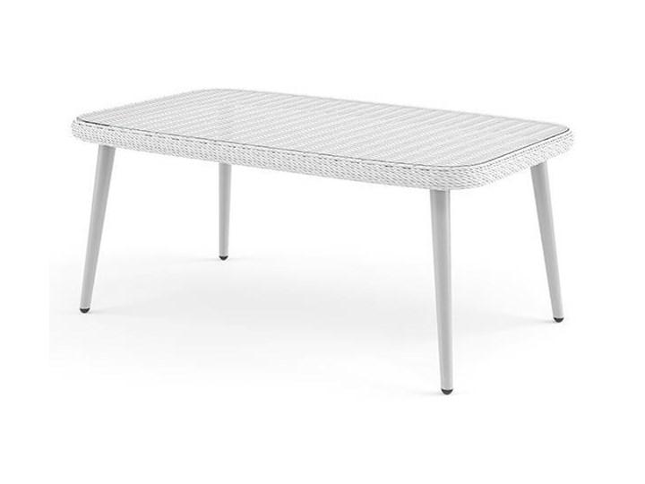 Meble ogrodowe MONZA royal białe Stoły z krzesłami Aluminium Zestawy wypoczynkowe Tworzywo sztuczne Technorattan Zawartość zestawu Fotele