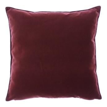 Poduszka Brązowa dekoracyjna z aksamitu ROMEO