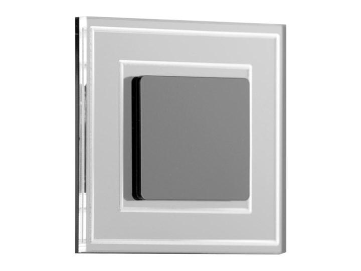 LDST KE-01-CB-BC8- LED Oświetlenie schodowe KELLY 8xLED/1,2W/230V błyszczące czarne