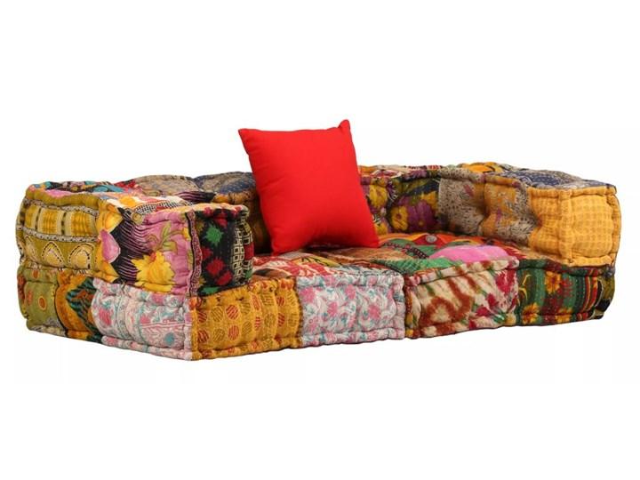 vidaXL 2-osobowa modułowa sofa z podłokietnikami, patchworkowa Stała konstrukcja Stała konstrukcja Modułowe Modułowe Rozkładanie