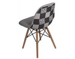 Krzesło P016W Pattern D2 szare/patchwork kod: 5902385722773