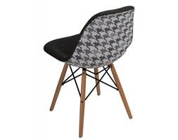 Krzesło P016W Pattern D2 szare/pepitka kod: 5902385722728