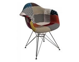 Krzesło P018 DAR D2 patchwork kolorowe kod: 5902385703048
