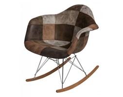 Krzesło P018 RAR Patchwork D2 brązowo-beżowe kod: 5902385722803